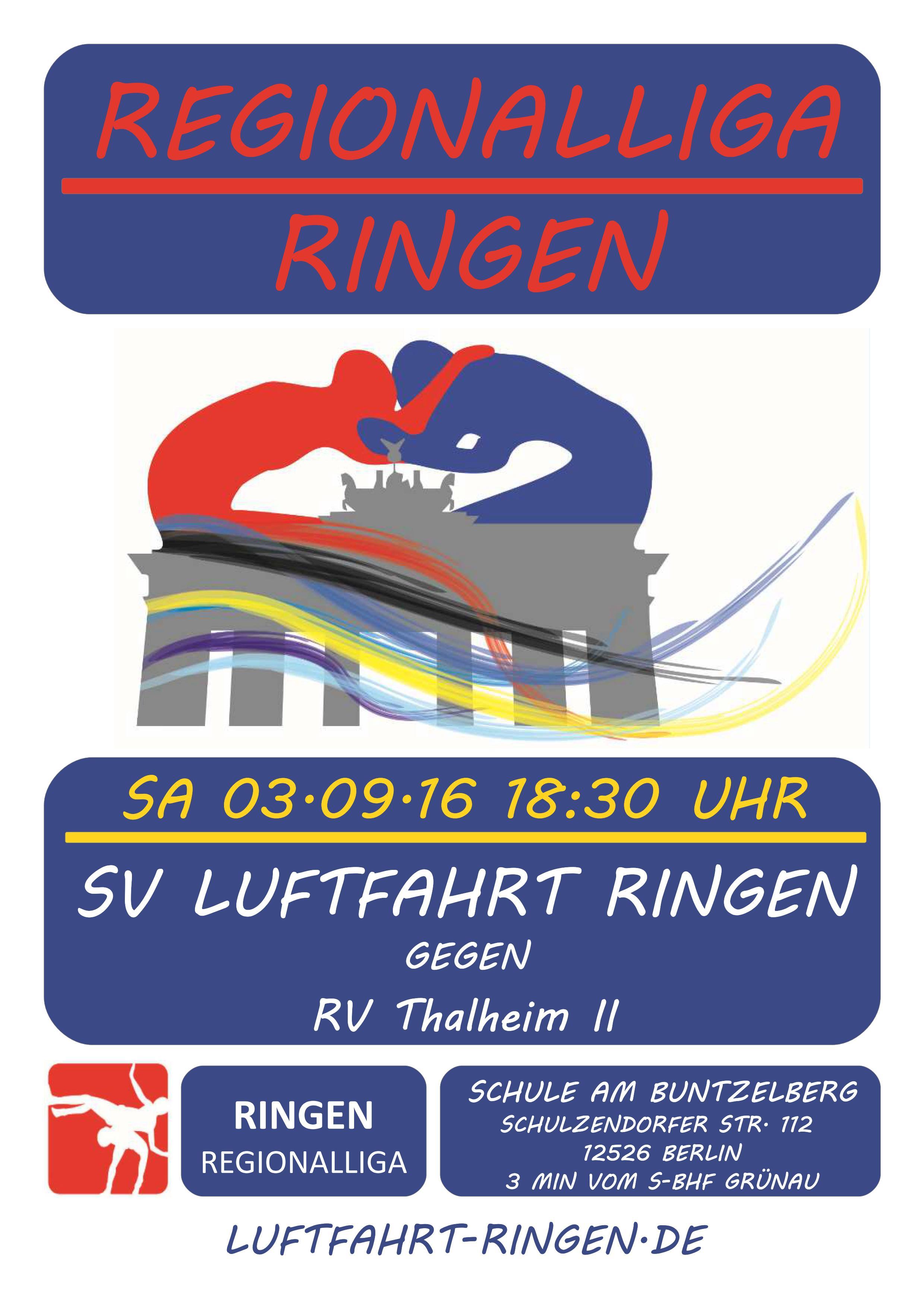 Regionalliga Heimkampf gg. RV Thalheim II