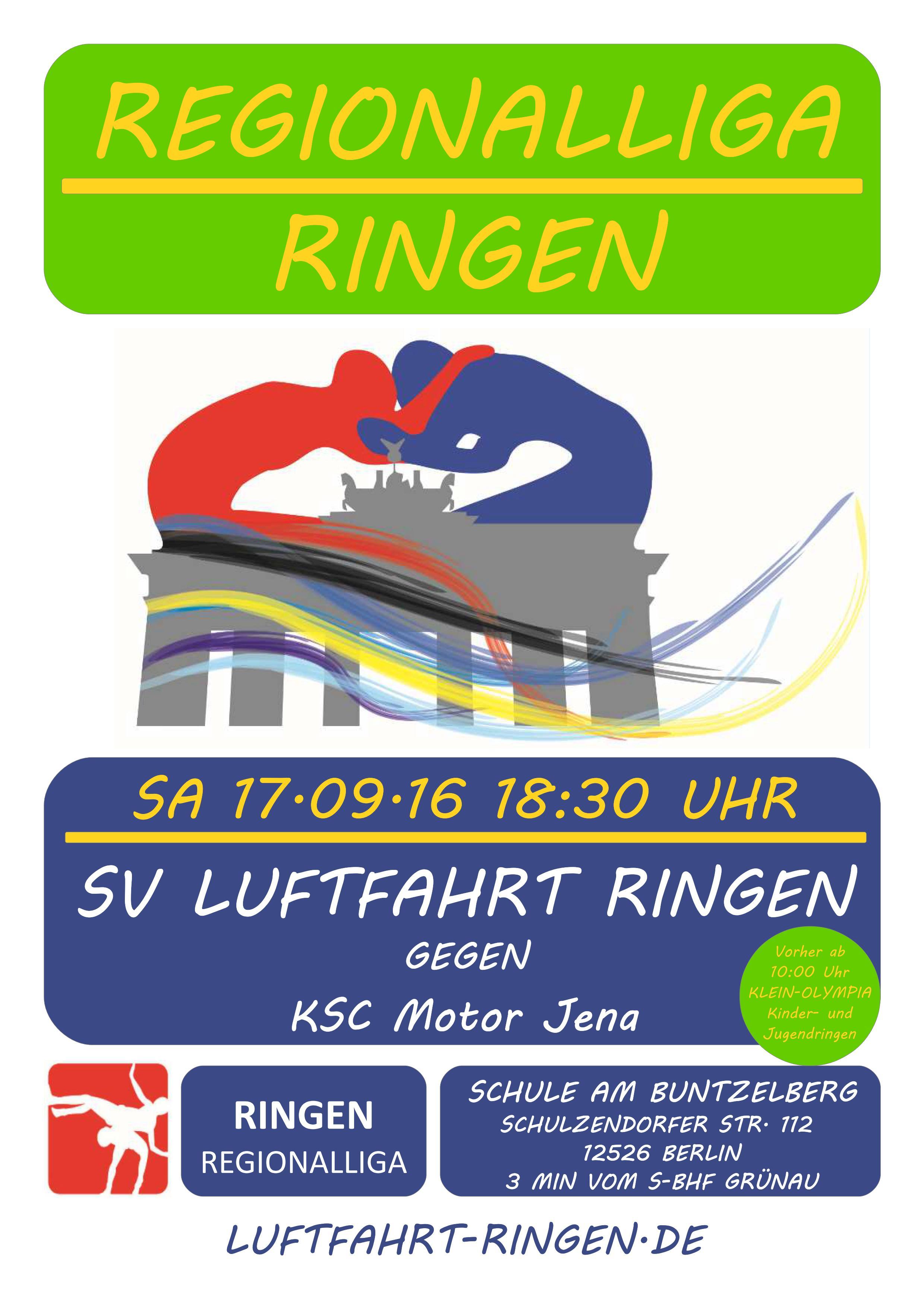 Regionalliga Heimkampf gg. KSC Motor Jena