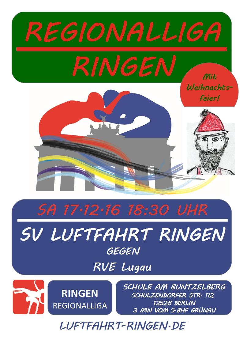 Regionalliga Heimkampf gg. RVE Lugau