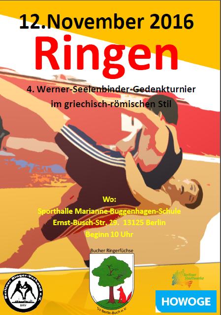 4. Werner-Seelenbinder-Gedenkturnier