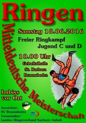 Offene Mitteldeutsche Meisterschaften Jugend C und D FR