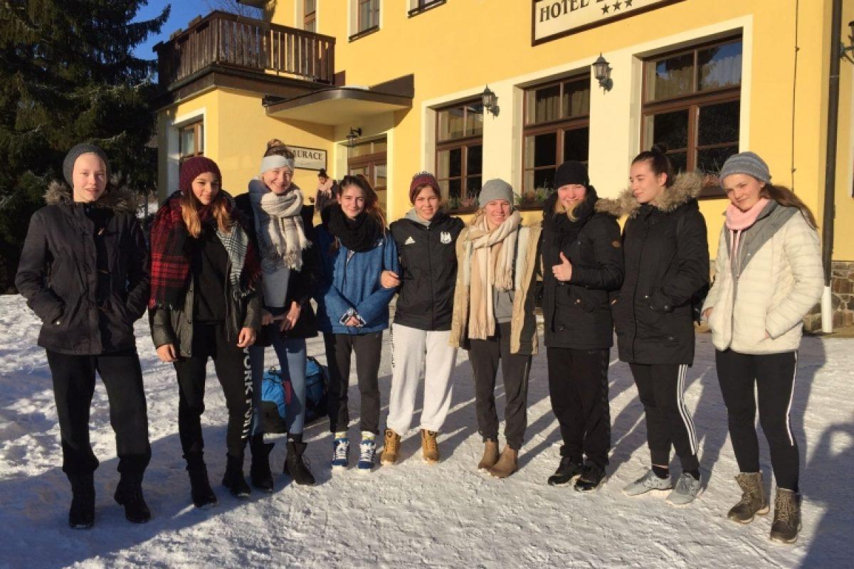 Wintertrainingslager Sportschule FfO 2016