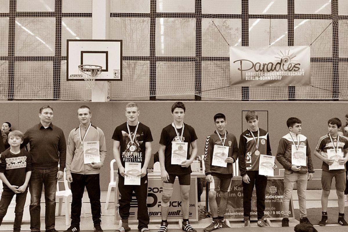 Berliner Meisterschaften Freistil A-C-Jugend 2017