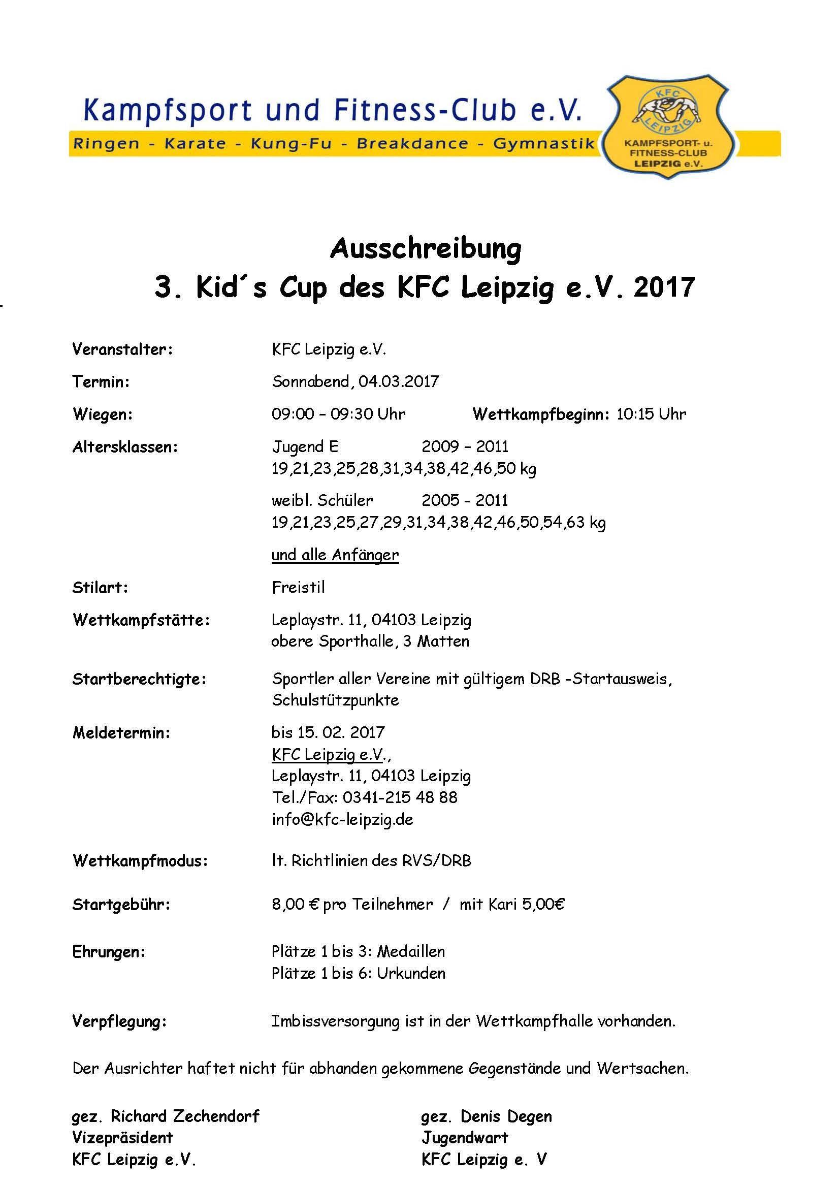 3. Kid's Cup Leipzig