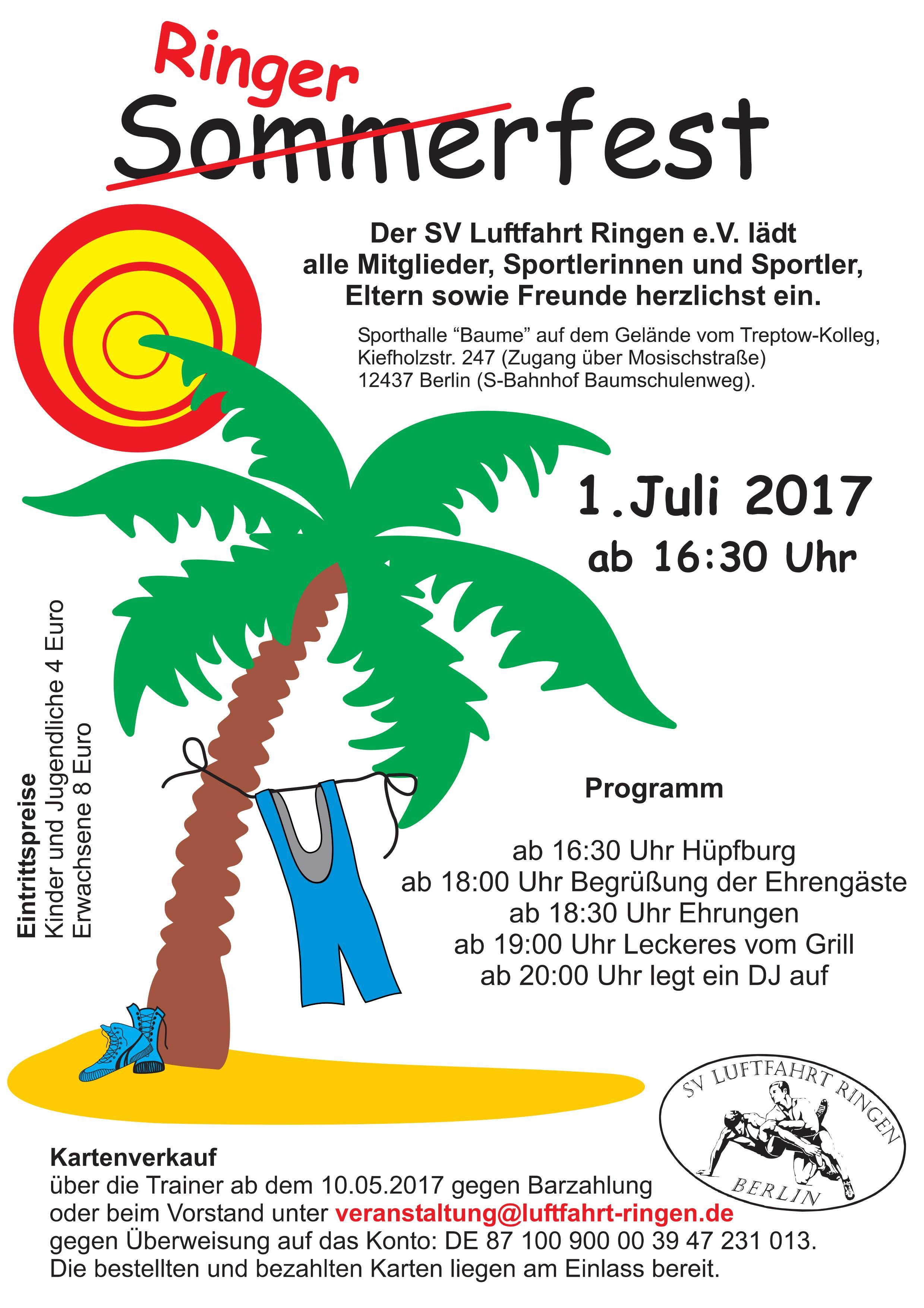 Sommerfest SVL