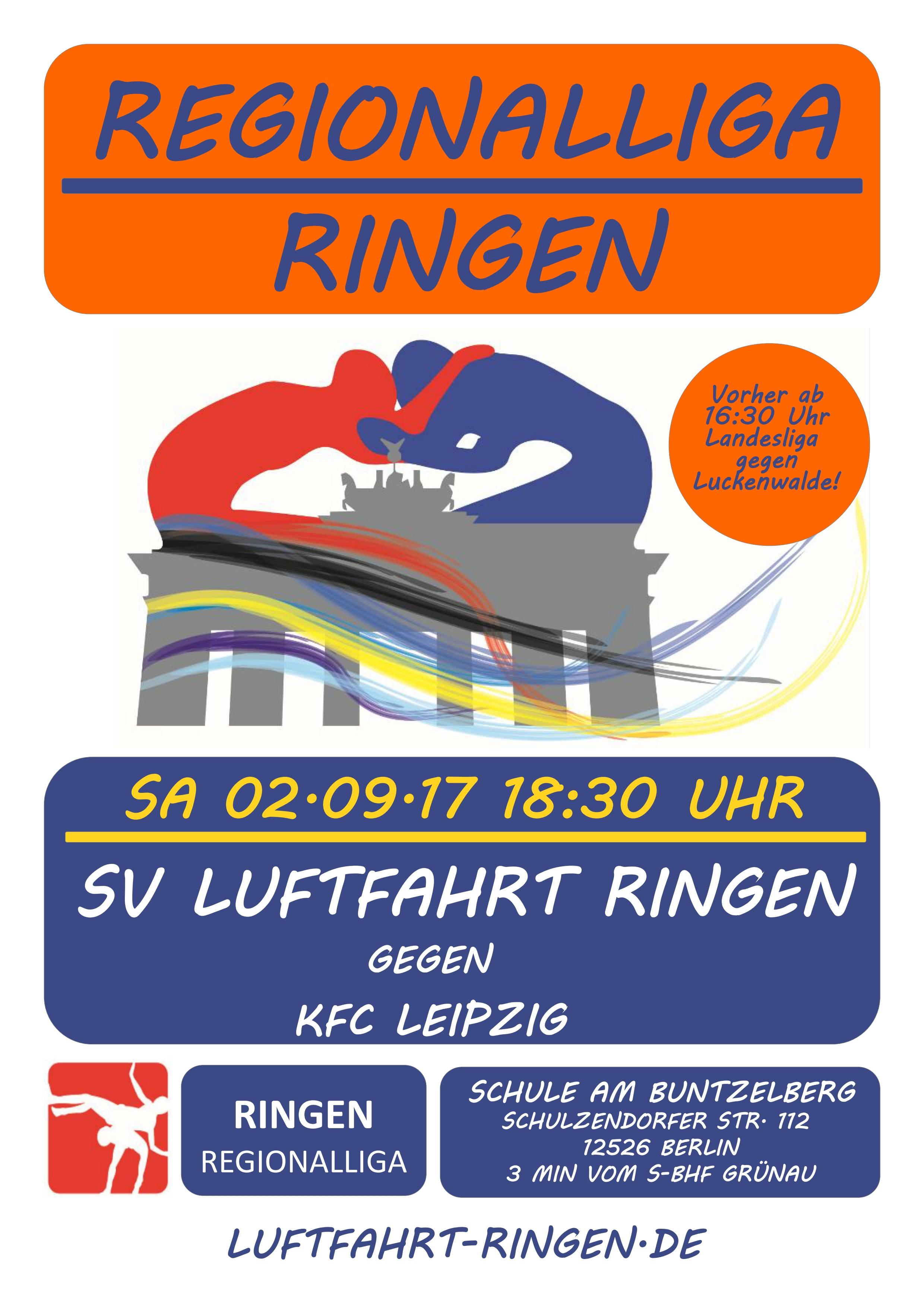 Regionalliga Heimkampf gg. KFC Leipzig