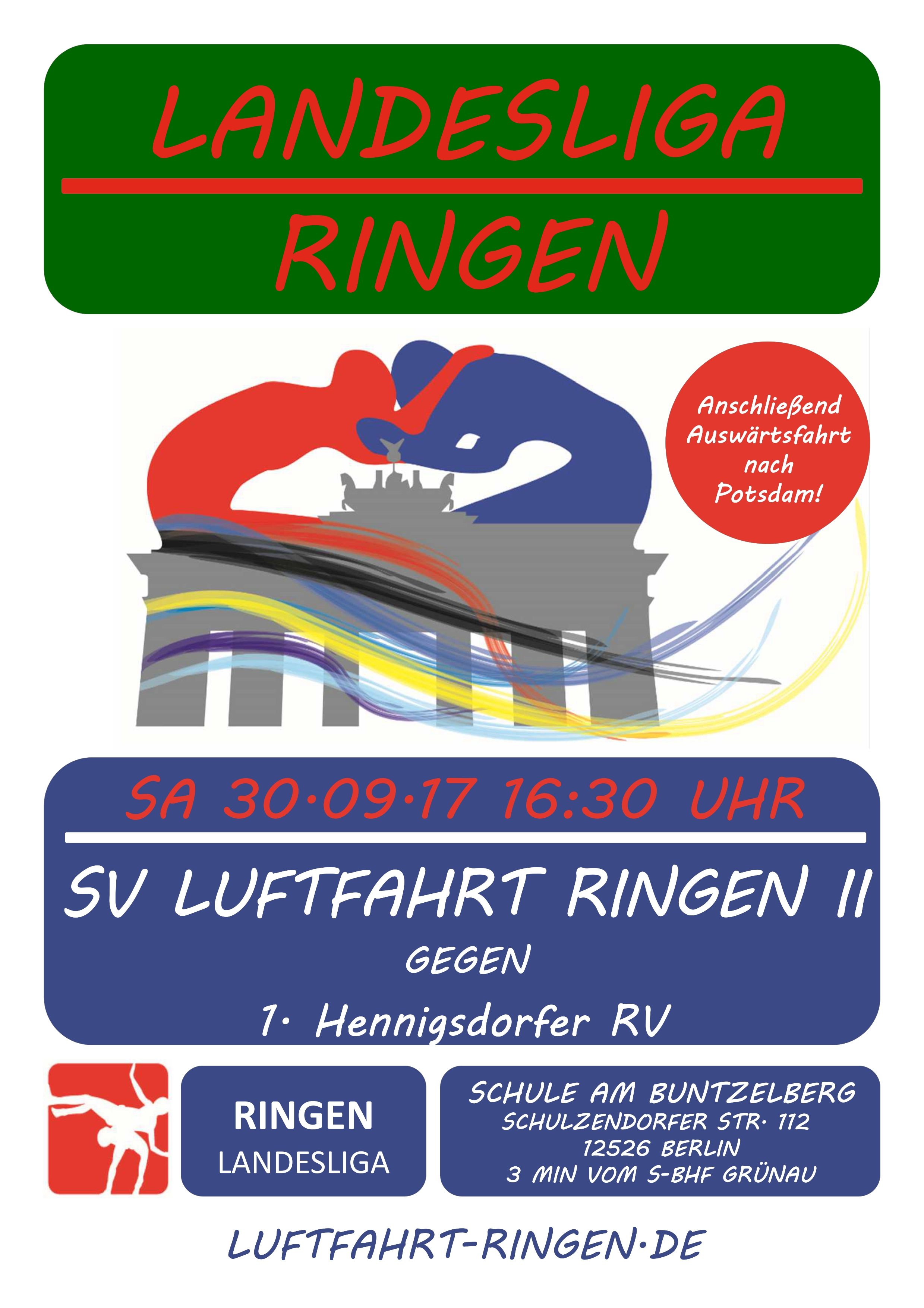 Landesliga Heimkampf gg. 1. Hennigsdorfer RV