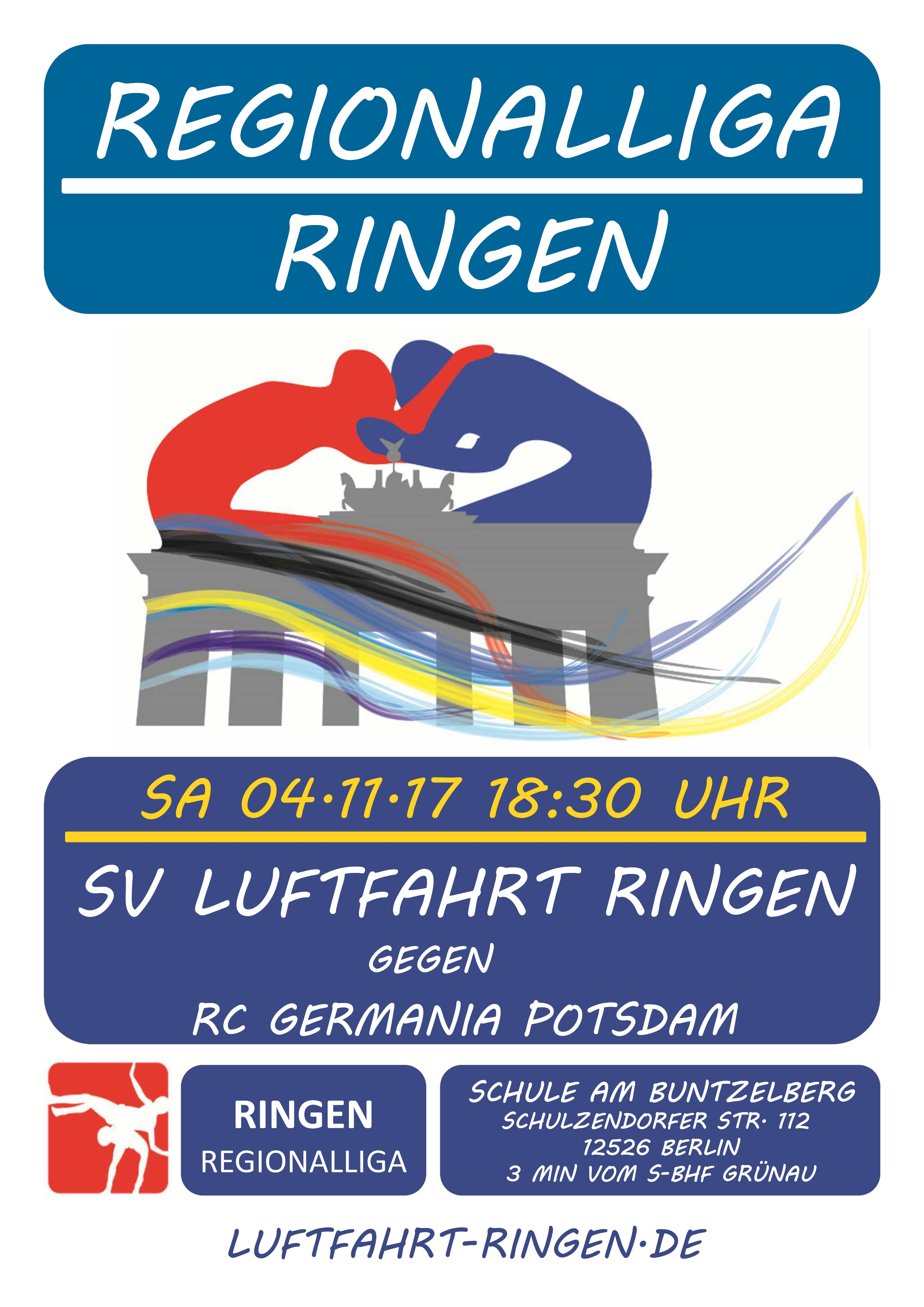Regionalliga Heimkampf gg. RC Germania Potsdam