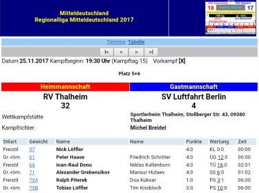 RV Thalheim vs SV Luftfahrt Ringen