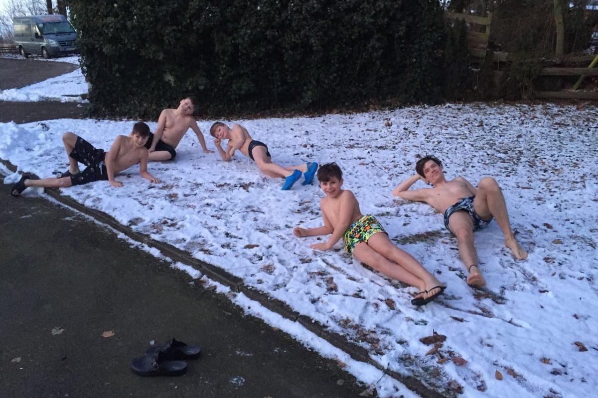 Wintertrainingslager der Leistungsgruppe