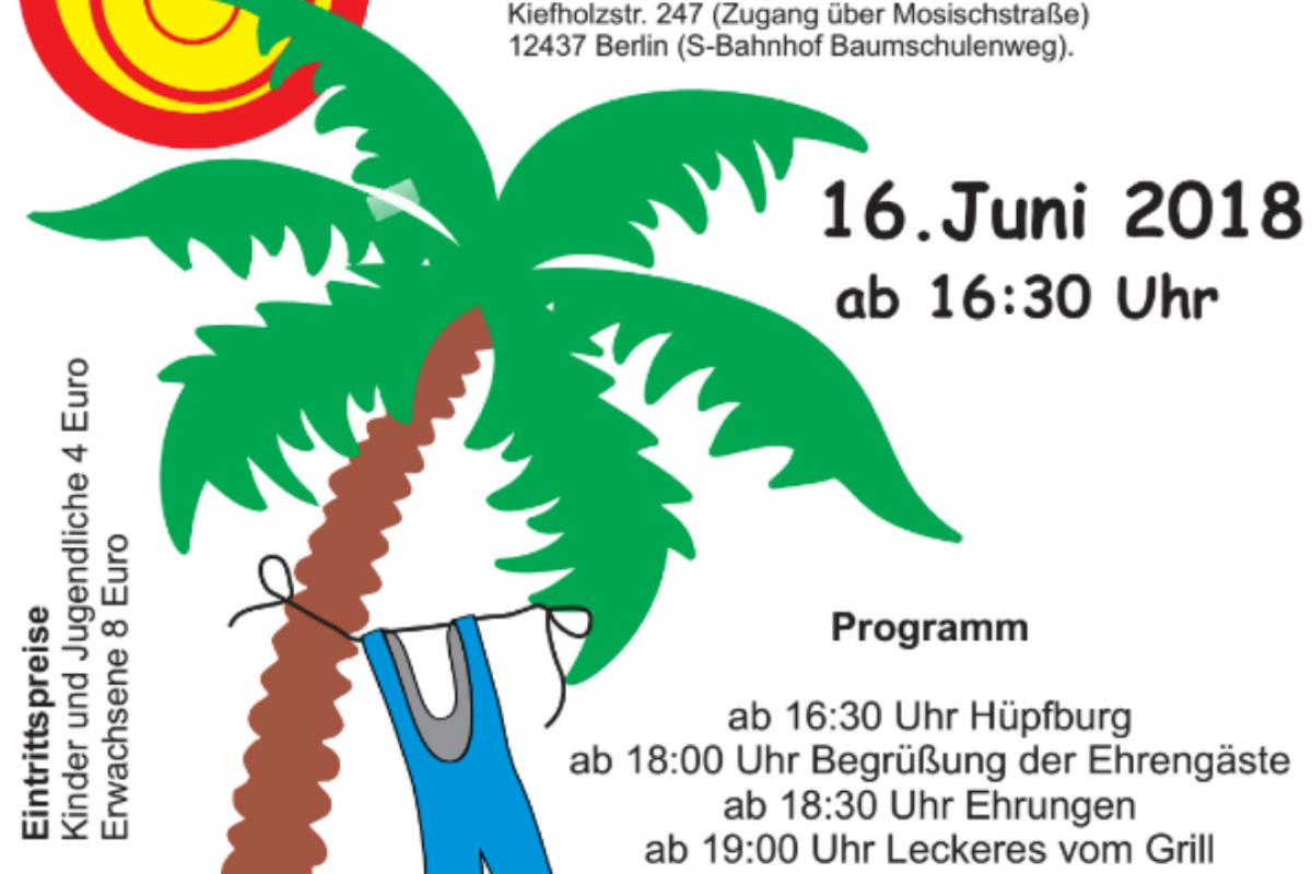 Einladung zum Sommerfest 2018
