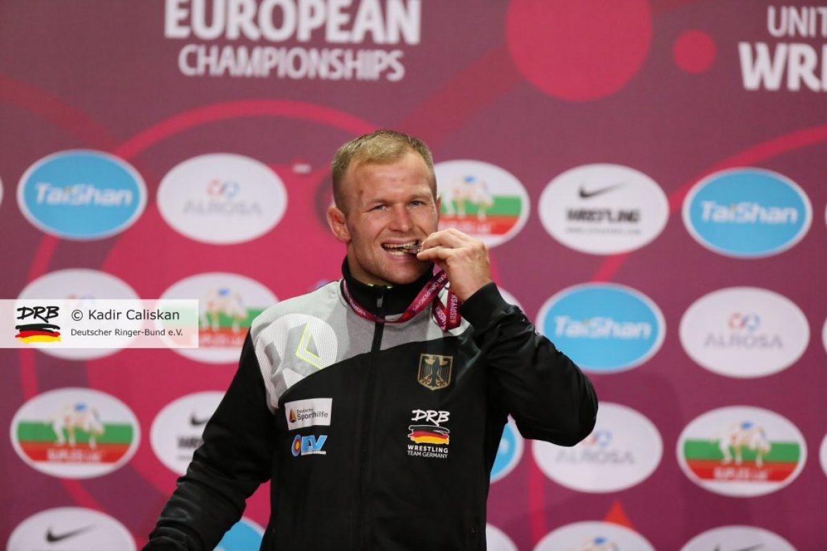 Martin Obst ist Vizeeuropameister!