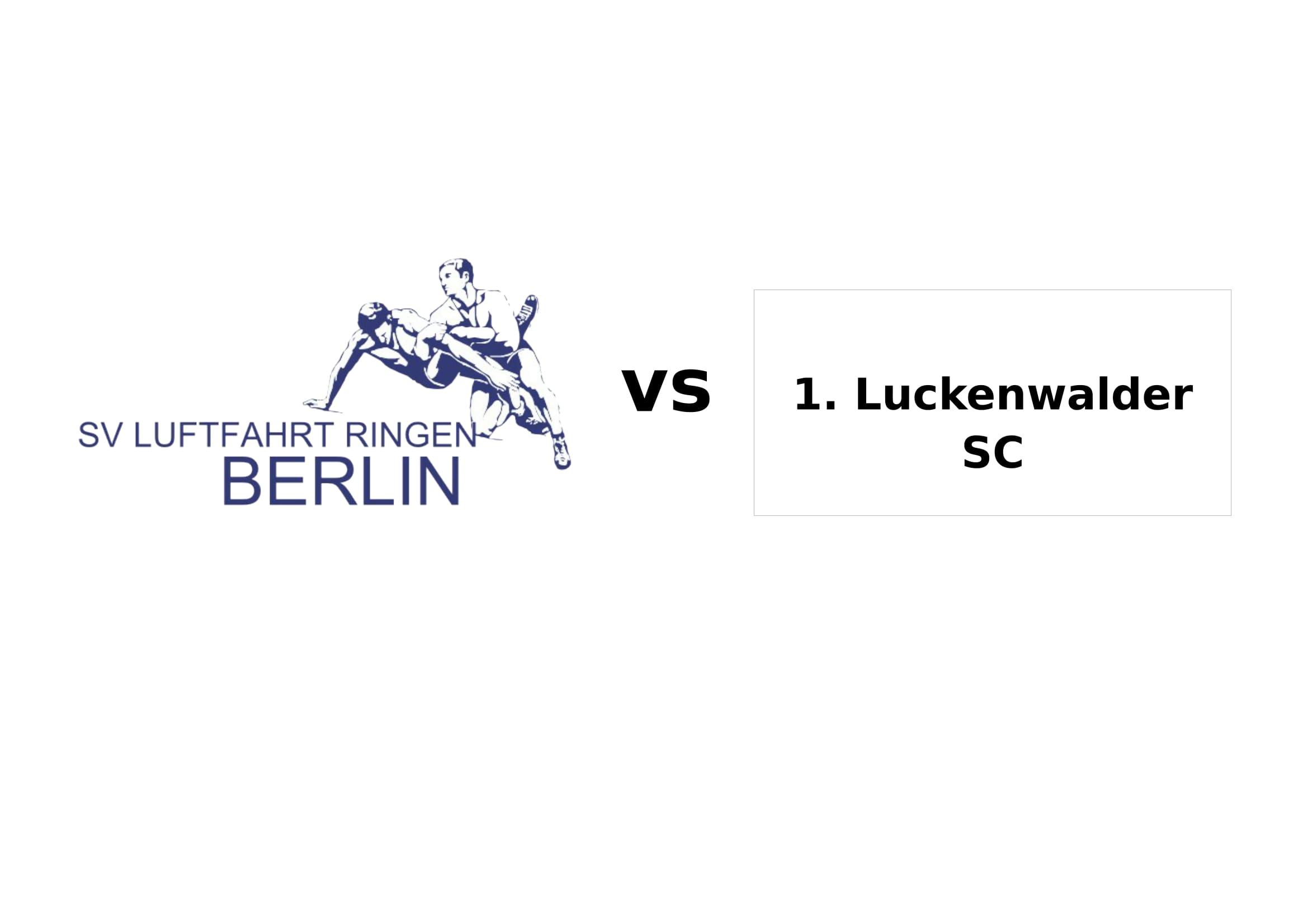 RL-Heimkampf SVL vs. 1. Luckenwalder SC