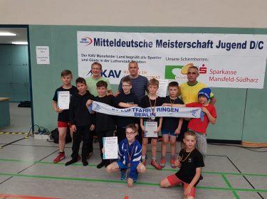 D und C Jugend – Offene Mitteldeutsche Meisterschaft – FR