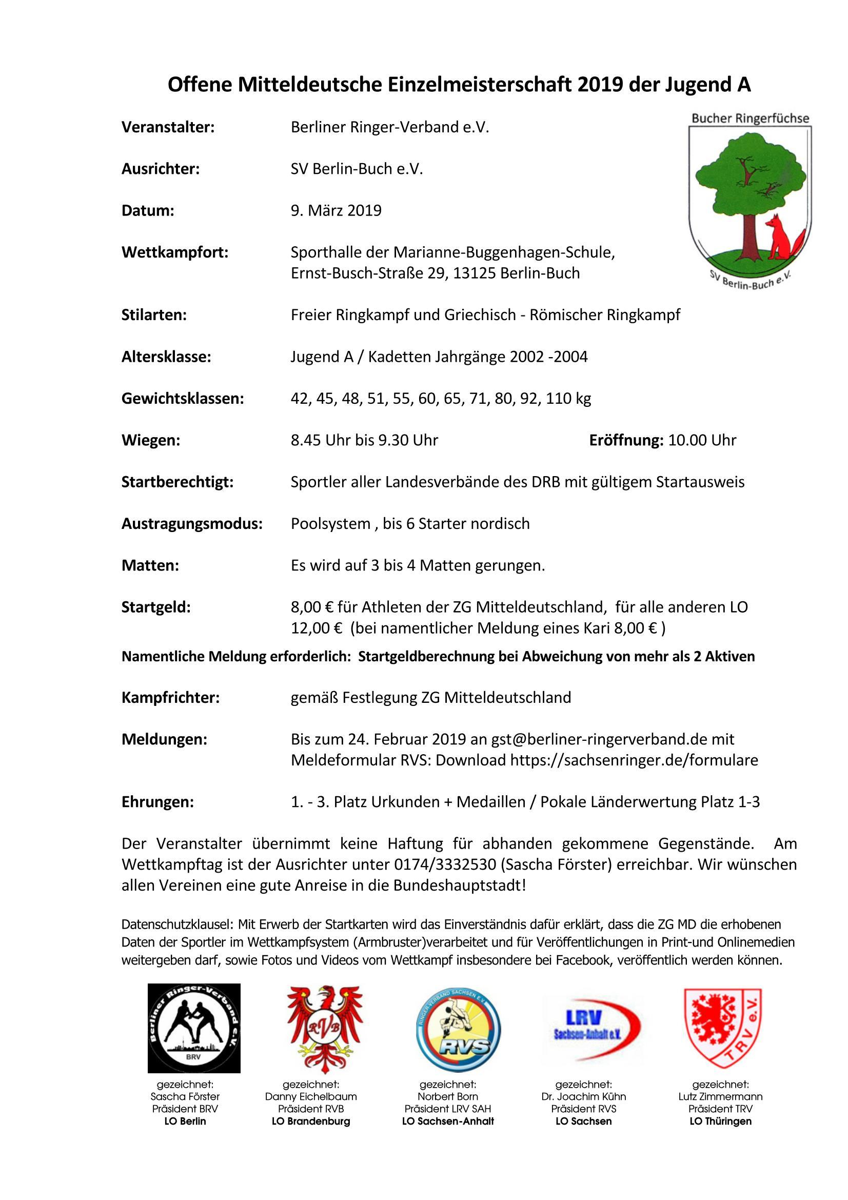 MDM A-Jugend FS/GR