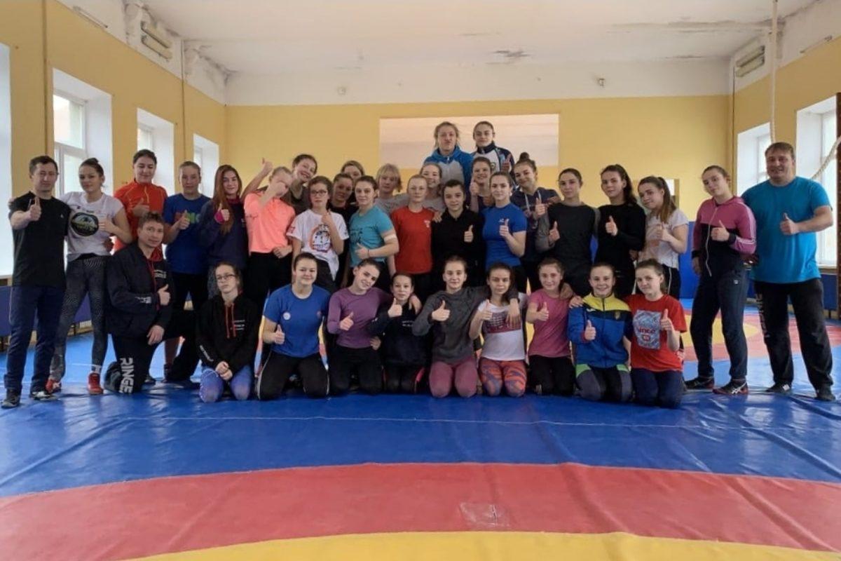 Trainingslager in der Ukraine
