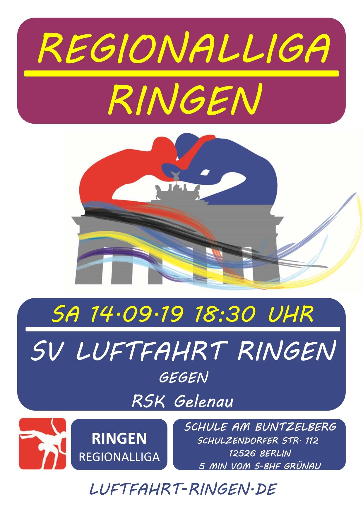 RL-Heimkampf vs RSK Gelenau