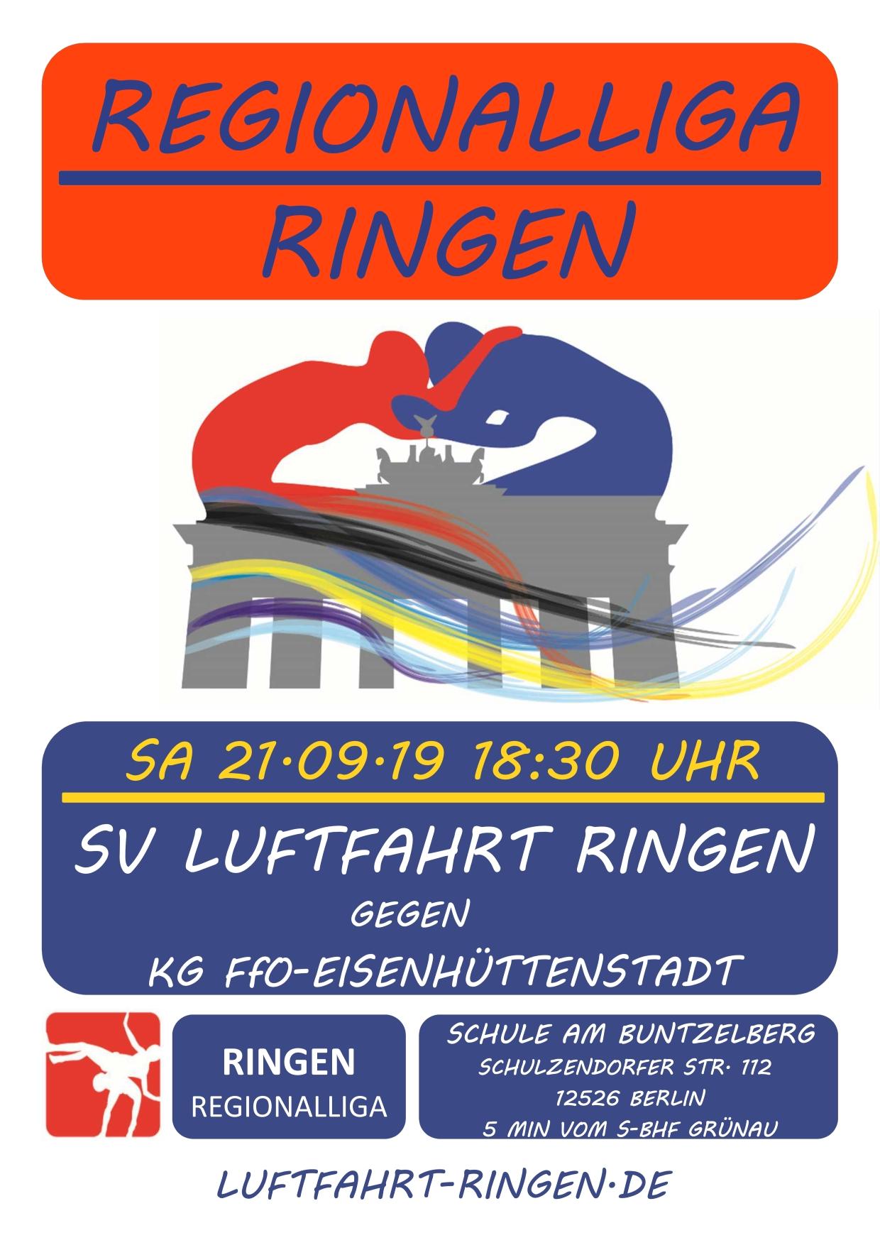 RL-Heimkampf vs RKG Frankfurt/O-Eisenhüttenstadt