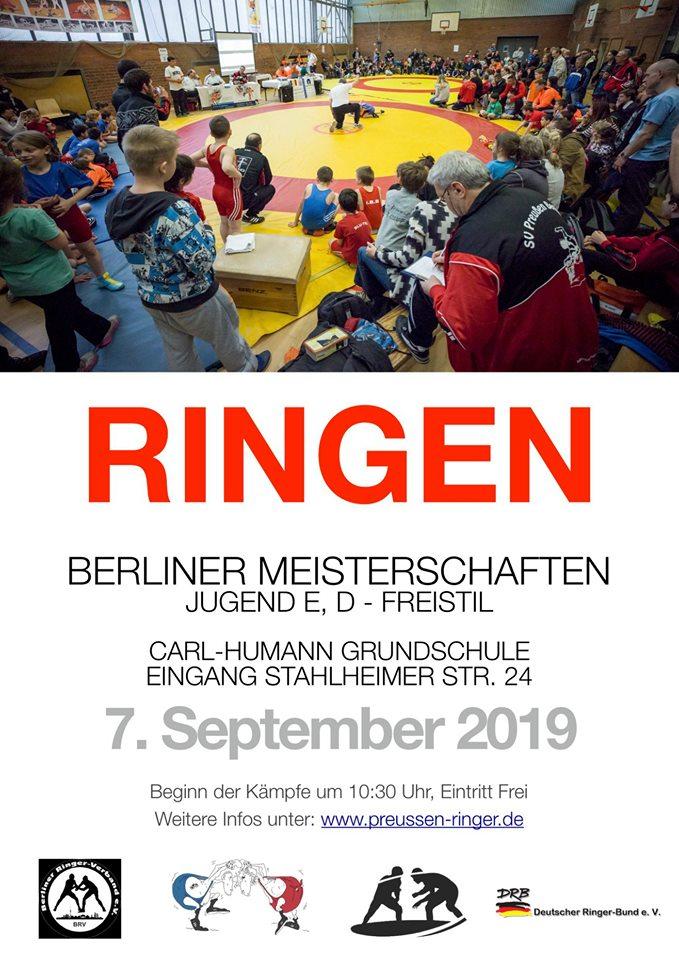 Berliner Meisterschaften D- & E-Jugend FS 2019