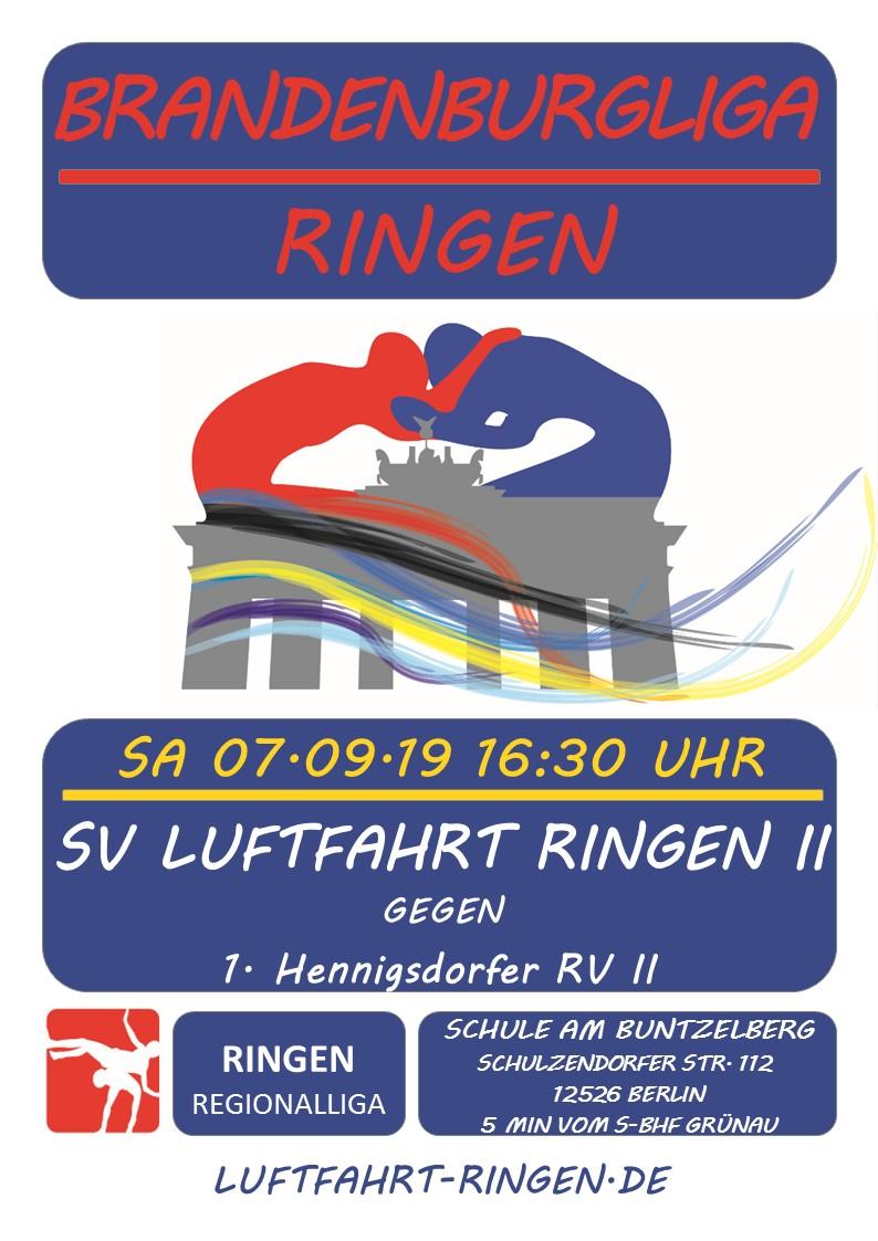 BL-Heimkampf vs 1. Hennigsdorfer RV II