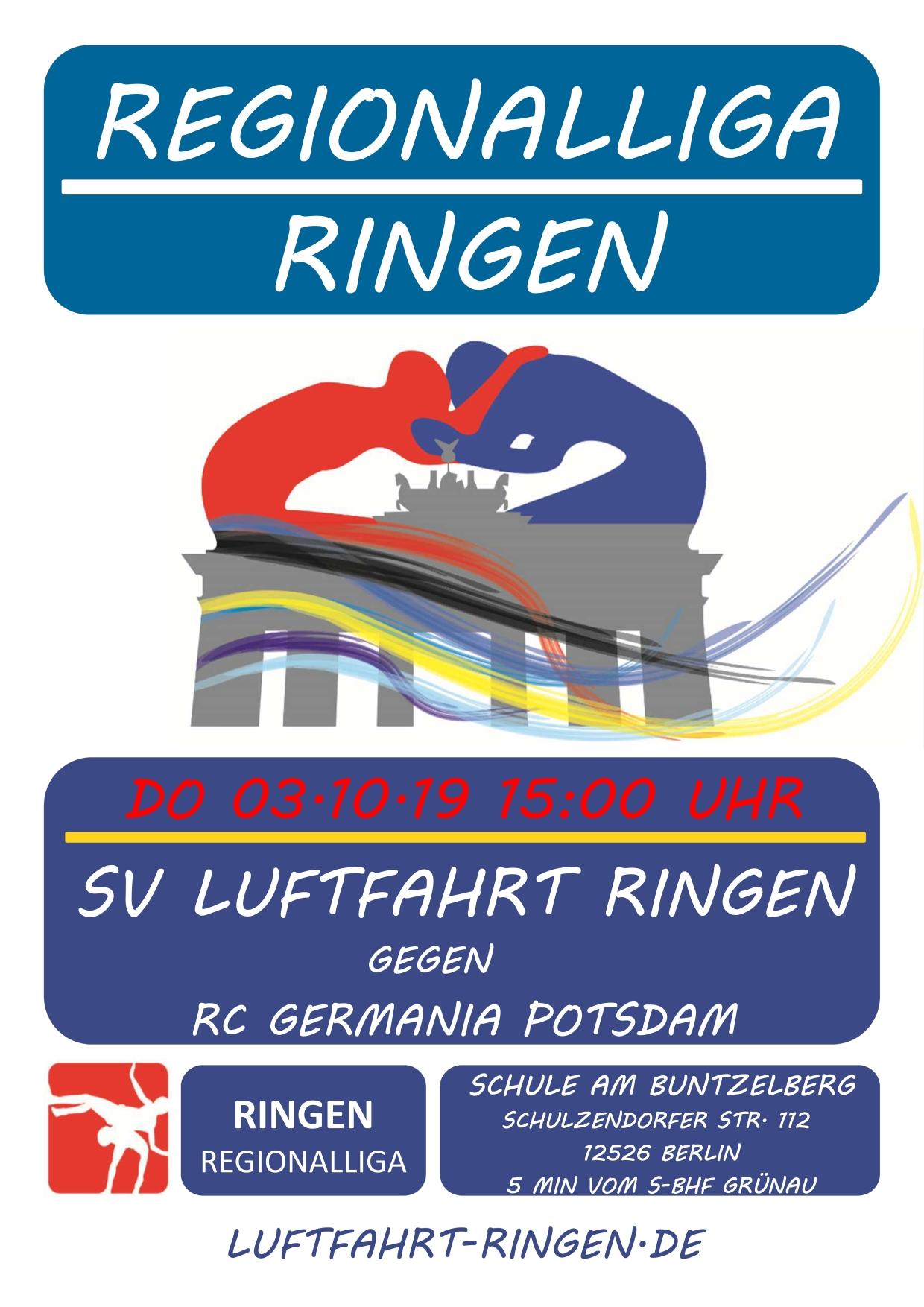 RL-Heimkampf vs RC Germania Potsdam
