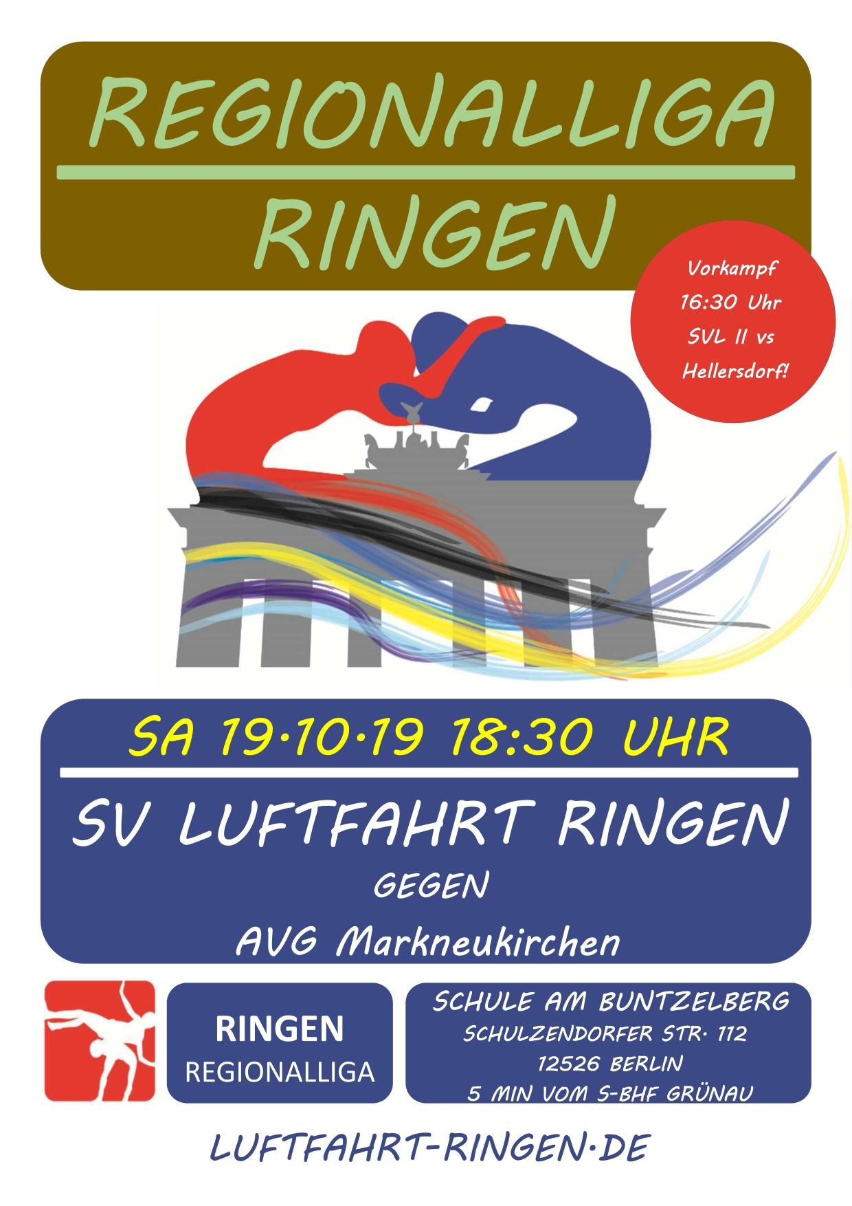 RL-Heimkampf vs AVG Markneukirchen