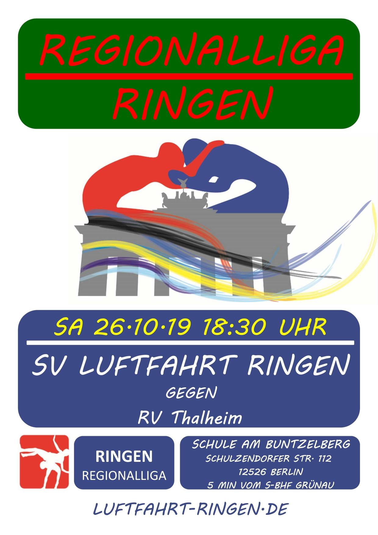 RL-Heimkampf vs RV Thalheim