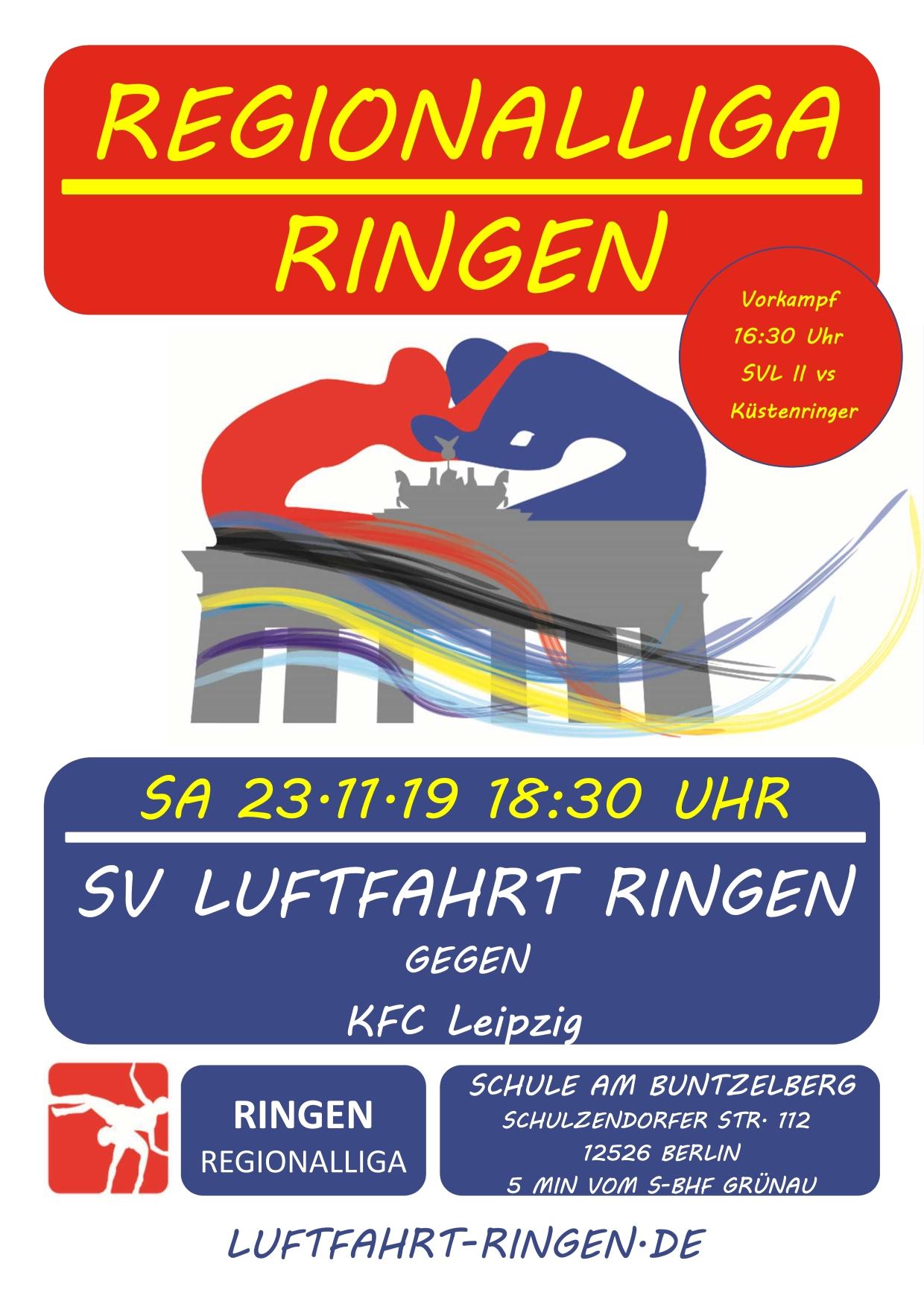 RL-Heimkampf vs KFC Leipzig