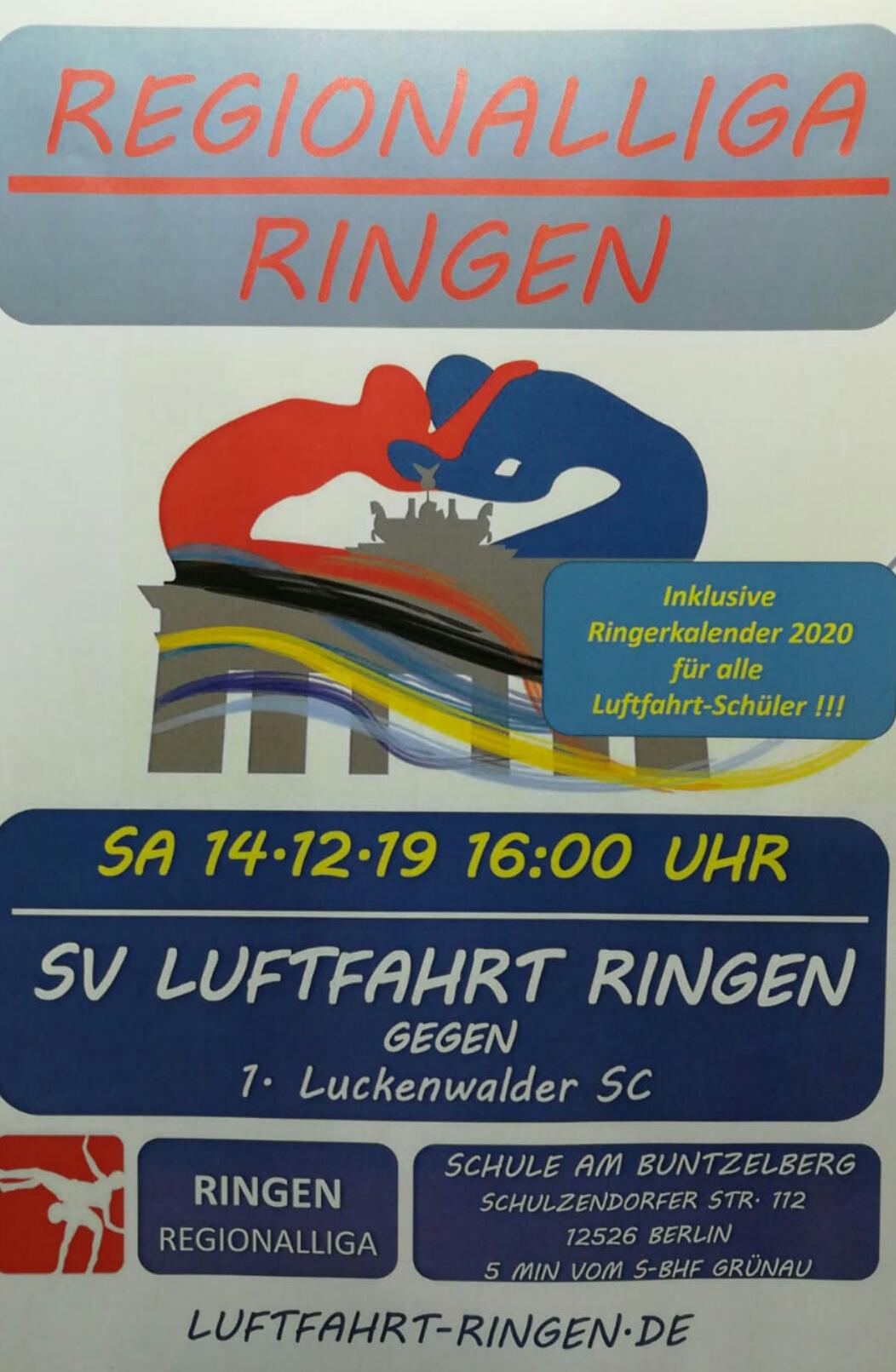RL-Heimkampf vs 1. Luckenwalder SC
