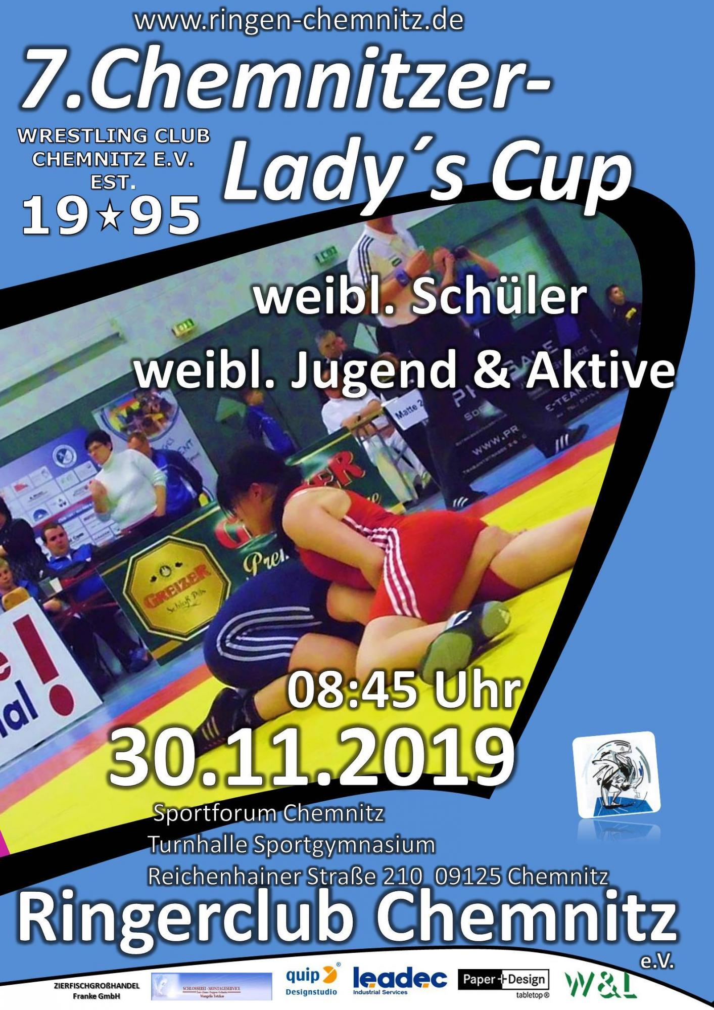 7. Chemnitzer Lady's Cup