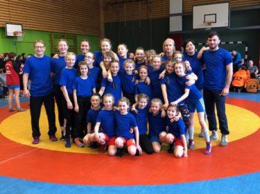 Berliner Meisterschaft 2020 im weiblichen Ringkampf